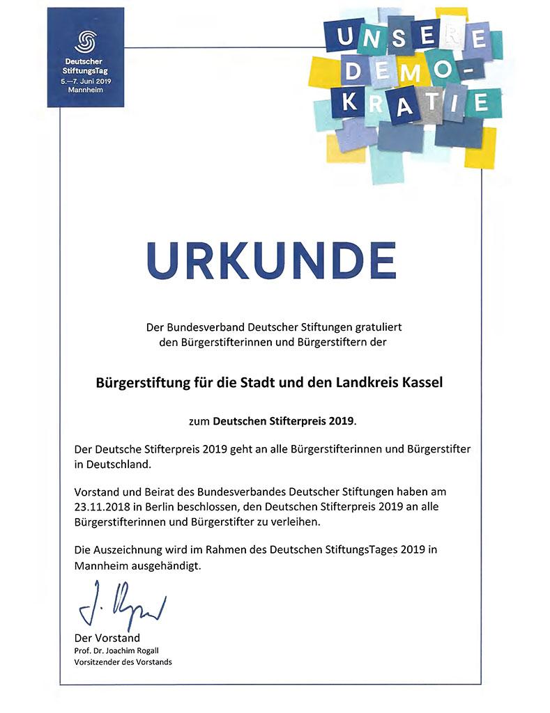 Deutscher Stifterpreis
